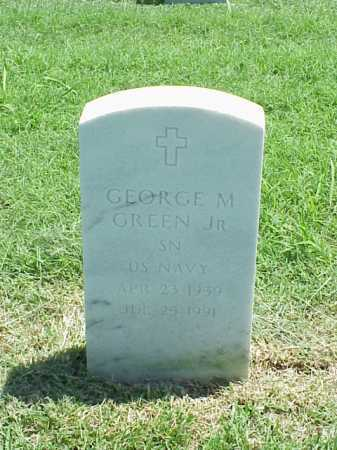 GREEN (VETERAN), GEORGE M - Pulaski County, Arkansas | GEORGE M GREEN (VETERAN) - Arkansas Gravestone Photos