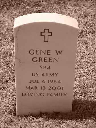 GREEN (VETERAN), GENE W - Pulaski County, Arkansas | GENE W GREEN (VETERAN) - Arkansas Gravestone Photos