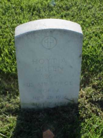 GREEN (VETERAN KOR), HOYT A - Pulaski County, Arkansas | HOYT A GREEN (VETERAN KOR) - Arkansas Gravestone Photos