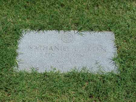 GREEN (VETERAN KOR), NATHANIEL L - Pulaski County, Arkansas | NATHANIEL L GREEN (VETERAN KOR) - Arkansas Gravestone Photos