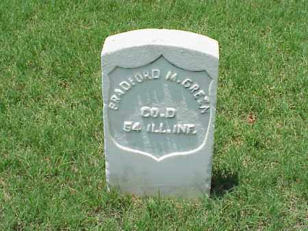 GREEN (VETERAN), BRADFORD M - Pulaski County, Arkansas | BRADFORD M GREEN (VETERAN) - Arkansas Gravestone Photos