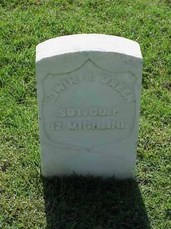 GREEN (VETERAN UNION), EDWIN R - Pulaski County, Arkansas | EDWIN R GREEN (VETERAN UNION) - Arkansas Gravestone Photos