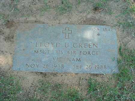 GREEN (VETERAN VIET), LLOYD U - Pulaski County, Arkansas | LLOYD U GREEN (VETERAN VIET) - Arkansas Gravestone Photos