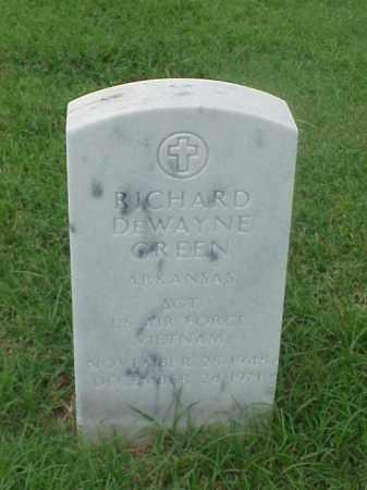 GREEN (VETERAN VIET), RICHARD DEWAYNE - Pulaski County, Arkansas | RICHARD DEWAYNE GREEN (VETERAN VIET) - Arkansas Gravestone Photos