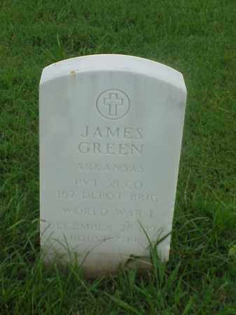 GREEN (VETERAN WWI), JAMES - Pulaski County, Arkansas | JAMES GREEN (VETERAN WWI) - Arkansas Gravestone Photos