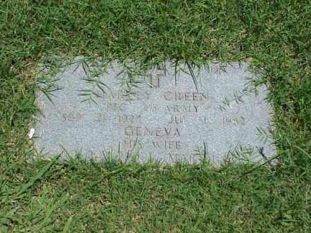 GREEN (VETERAN WWII), HARVEY - Pulaski County, Arkansas | HARVEY GREEN (VETERAN WWII) - Arkansas Gravestone Photos