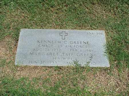 GREENE (VETERAN 2 WARS), KENNETH C - Pulaski County, Arkansas | KENNETH C GREENE (VETERAN 2 WARS) - Arkansas Gravestone Photos