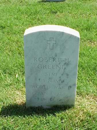 GREENE (VETERAN WWII), ROBERT H - Pulaski County, Arkansas | ROBERT H GREENE (VETERAN WWII) - Arkansas Gravestone Photos