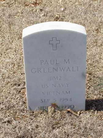 GREENWALT  (VETERAN VIET), PAUL M - Pulaski County, Arkansas | PAUL M GREENWALT  (VETERAN VIET) - Arkansas Gravestone Photos