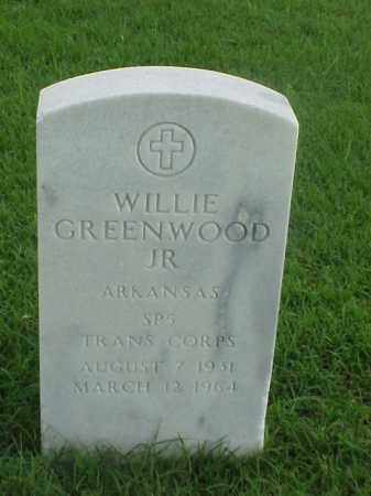 GREENWOOD, JR (VETERAN KOR), WILLIE - Pulaski County, Arkansas | WILLIE GREENWOOD, JR (VETERAN KOR) - Arkansas Gravestone Photos