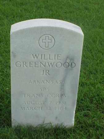 GREENWOOD, JR (VETERAN KOR), WILLIE - Pulaski County, Arkansas   WILLIE GREENWOOD, JR (VETERAN KOR) - Arkansas Gravestone Photos