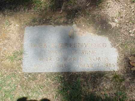 GREENWOOD (VETERAN 2 WARS), JACK EDWARD - Pulaski County, Arkansas | JACK EDWARD GREENWOOD (VETERAN 2 WARS) - Arkansas Gravestone Photos