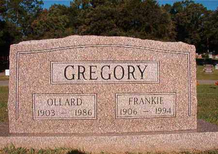 GREGORY, OLLARD - Pulaski County, Arkansas | OLLARD GREGORY - Arkansas Gravestone Photos