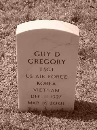 GREGORY (VETERAN 2 WARS), GUY D - Pulaski County, Arkansas | GUY D GREGORY (VETERAN 2 WARS) - Arkansas Gravestone Photos