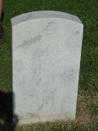 GREGORY (VETERAN 3 WARS), WILLIAM J - Pulaski County, Arkansas | WILLIAM J GREGORY (VETERAN 3 WARS) - Arkansas Gravestone Photos