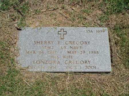 GREGORY (VETERAN WWII), SHERRY E - Pulaski County, Arkansas | SHERRY E GREGORY (VETERAN WWII) - Arkansas Gravestone Photos