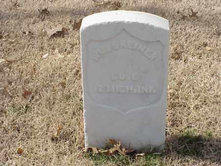 GREINER  (VETERAN UNION), WILLIAM - Pulaski County, Arkansas | WILLIAM GREINER  (VETERAN UNION) - Arkansas Gravestone Photos