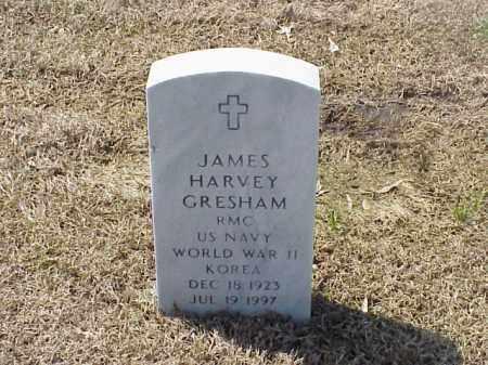 GRESHAM (VETERAN 2 WARS), JAMES HARVEY - Pulaski County, Arkansas | JAMES HARVEY GRESHAM (VETERAN 2 WARS) - Arkansas Gravestone Photos
