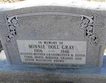 "GREY, MINNIE ""DOLL"" - Pulaski County, Arkansas 