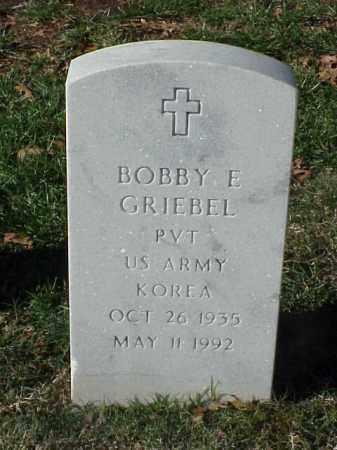 GRIEBEL  (VETERAN KOR), BOBBY E - Pulaski County, Arkansas | BOBBY E GRIEBEL  (VETERAN KOR) - Arkansas Gravestone Photos