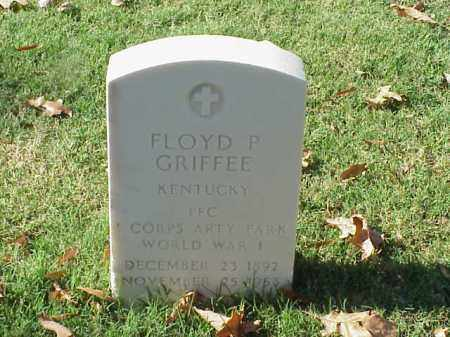 GRIFFEE  (VETERAN WWI), FLOYD P - Pulaski County, Arkansas | FLOYD P GRIFFEE  (VETERAN WWI) - Arkansas Gravestone Photos