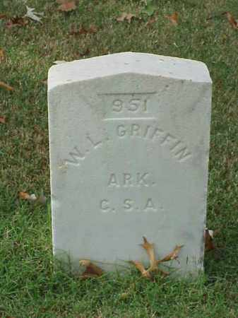 GRIFFIN  (VETERAN CSA), W L - Pulaski County, Arkansas | W L GRIFFIN  (VETERAN CSA) - Arkansas Gravestone Photos