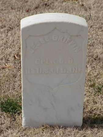 GRIFFIN  (VETERAN UNION), JESSE - Pulaski County, Arkansas | JESSE GRIFFIN  (VETERAN UNION) - Arkansas Gravestone Photos