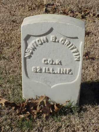GRIFFIN  (VETERAN UNION), NEWTON B - Pulaski County, Arkansas | NEWTON B GRIFFIN  (VETERAN UNION) - Arkansas Gravestone Photos