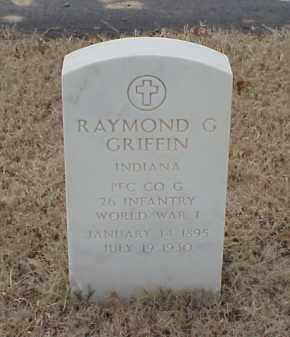 GRIFFIN  (VETERAN WWI), RAYMOND G - Pulaski County, Arkansas | RAYMOND G GRIFFIN  (VETERAN WWI) - Arkansas Gravestone Photos