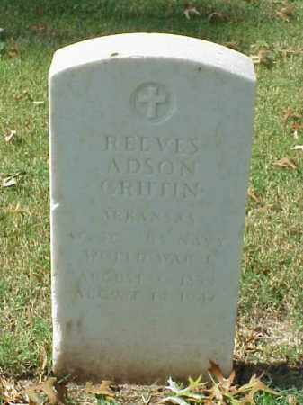 GRIFFIN  (VETERAN WWI), REEVES ADSON - Pulaski County, Arkansas | REEVES ADSON GRIFFIN  (VETERAN WWI) - Arkansas Gravestone Photos