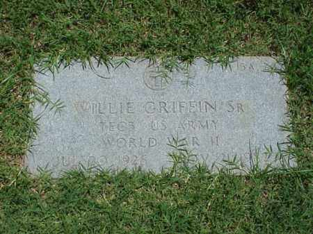 GRIFFIN, SR (VETERAN WWII), WILLIE - Pulaski County, Arkansas | WILLIE GRIFFIN, SR (VETERAN WWII) - Arkansas Gravestone Photos
