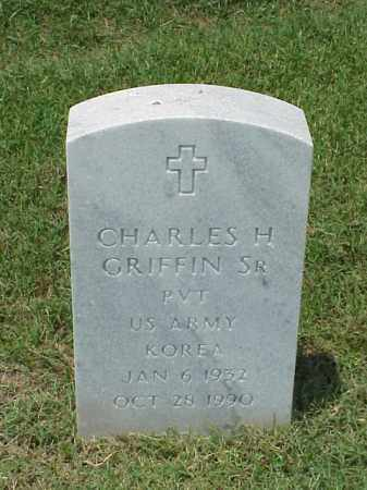 GRIFFIN (VETERAN KOR), CHARLES H - Pulaski County, Arkansas | CHARLES H GRIFFIN (VETERAN KOR) - Arkansas Gravestone Photos