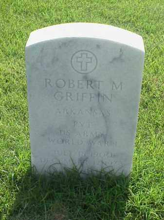 GRIFFIN (VETERAN WWI), ROBERT M - Pulaski County, Arkansas | ROBERT M GRIFFIN (VETERAN WWI) - Arkansas Gravestone Photos