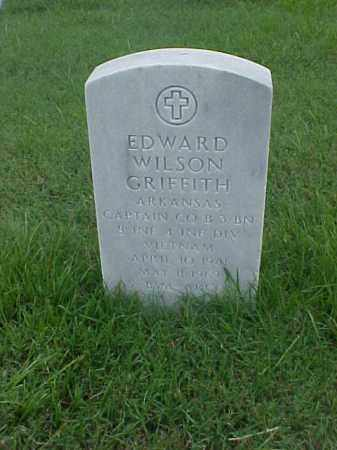 GRIFFITH (VETERAN VIET), EDWARD WILSON - Pulaski County, Arkansas | EDWARD WILSON GRIFFITH (VETERAN VIET) - Arkansas Gravestone Photos