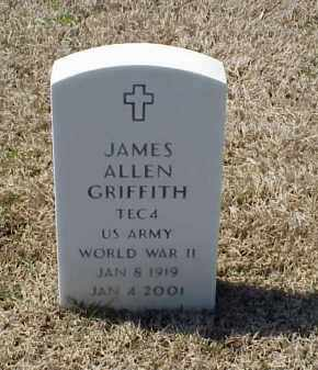 GRIFFITH (VETERAN WWII), JAMES ALLEN - Pulaski County, Arkansas | JAMES ALLEN GRIFFITH (VETERAN WWII) - Arkansas Gravestone Photos