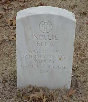 GRIGGS, NELLIE ELLA - Pulaski County, Arkansas | NELLIE ELLA GRIGGS - Arkansas Gravestone Photos