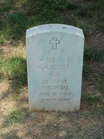 GRIGSBY (VETERAN VIET), WILLIE L - Pulaski County, Arkansas | WILLIE L GRIGSBY (VETERAN VIET) - Arkansas Gravestone Photos