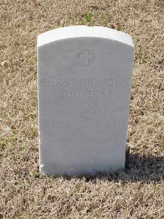 GRIMES (VETERAN WWI), CHESTER JOHN - Pulaski County, Arkansas | CHESTER JOHN GRIMES (VETERAN WWI) - Arkansas Gravestone Photos