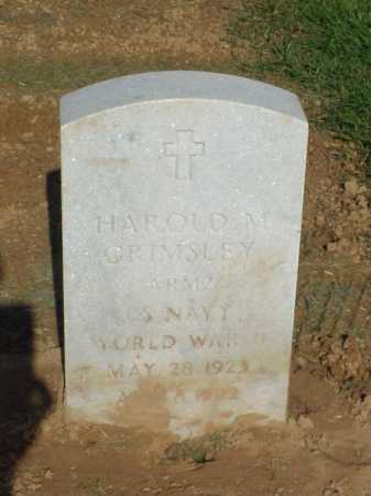 GRIMSLEY (VETERAN WWII), HAROLD M - Pulaski County, Arkansas | HAROLD M GRIMSLEY (VETERAN WWII) - Arkansas Gravestone Photos