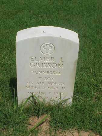 GRISSOM (VETERAN WWII), ELMER L - Pulaski County, Arkansas | ELMER L GRISSOM (VETERAN WWII) - Arkansas Gravestone Photos