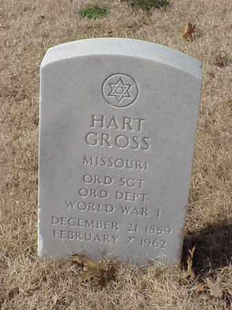 GROSS  (VETERAN WWI), HART - Pulaski County, Arkansas | HART GROSS  (VETERAN WWI) - Arkansas Gravestone Photos