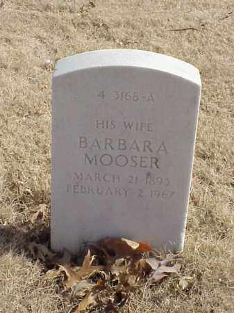 MOOSER GROSS, BARBARA - Pulaski County, Arkansas | BARBARA MOOSER GROSS - Arkansas Gravestone Photos