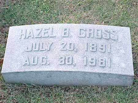 GROSS, HAZEL B - Pulaski County, Arkansas | HAZEL B GROSS - Arkansas Gravestone Photos