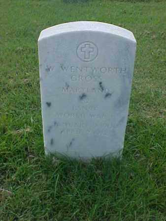 GROSS (VETERAN WWI), W WENTWORTH - Pulaski County, Arkansas | W WENTWORTH GROSS (VETERAN WWI) - Arkansas Gravestone Photos