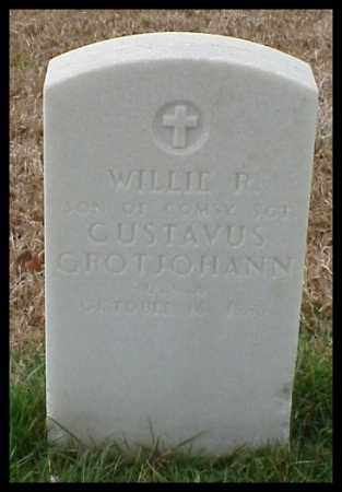 GROTJOHANN, WILLIE R - Pulaski County, Arkansas | WILLIE R GROTJOHANN - Arkansas Gravestone Photos