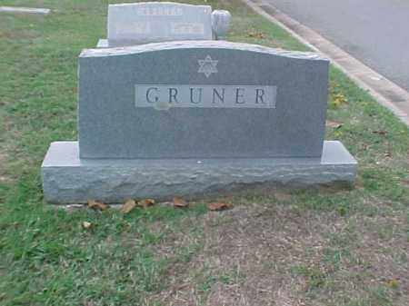 GRUNER FAMILY STONE, . - Pulaski County, Arkansas | . GRUNER FAMILY STONE - Arkansas Gravestone Photos