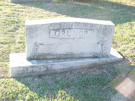GRUNER FAMILY STONE,  - Pulaski County, Arkansas |  GRUNER FAMILY STONE - Arkansas Gravestone Photos