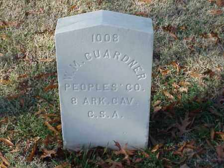 GUARDNER  (VETERAN CSA), W M - Pulaski County, Arkansas | W M GUARDNER  (VETERAN CSA) - Arkansas Gravestone Photos