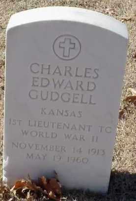 GUDGELL  (VETERAN WWII), CHARLES EDWARD - Pulaski County, Arkansas | CHARLES EDWARD GUDGELL  (VETERAN WWII) - Arkansas Gravestone Photos