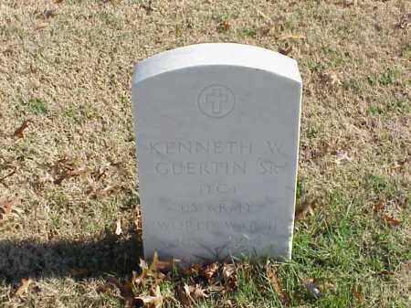 GUERTIN, SR  (VETERAN WWII), KENNETH W - Pulaski County, Arkansas | KENNETH W GUERTIN, SR  (VETERAN WWII) - Arkansas Gravestone Photos